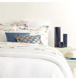 Pine Cone Hill Bubble White Matelasse Coverlet- King