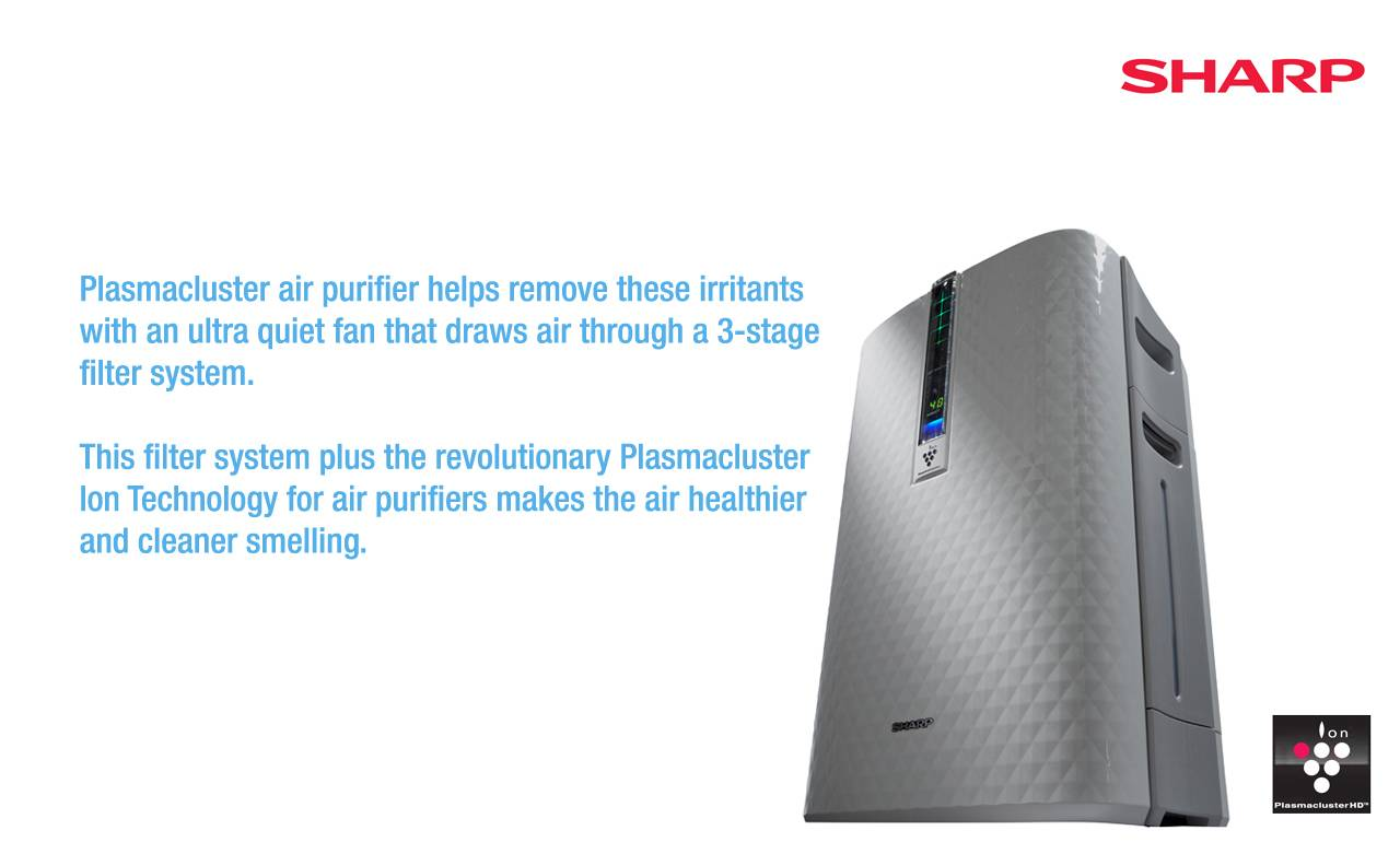 Sharp Air Purifier and Filters