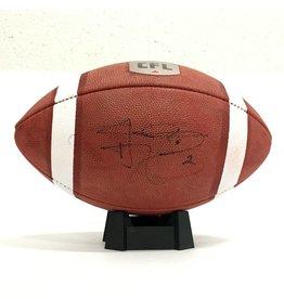 Wilson SIGNED JOHNNY MANZIEL FOOTBALL
