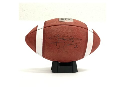 Wilson SIGNED JOHNNY MANZIEL FOOTBALL