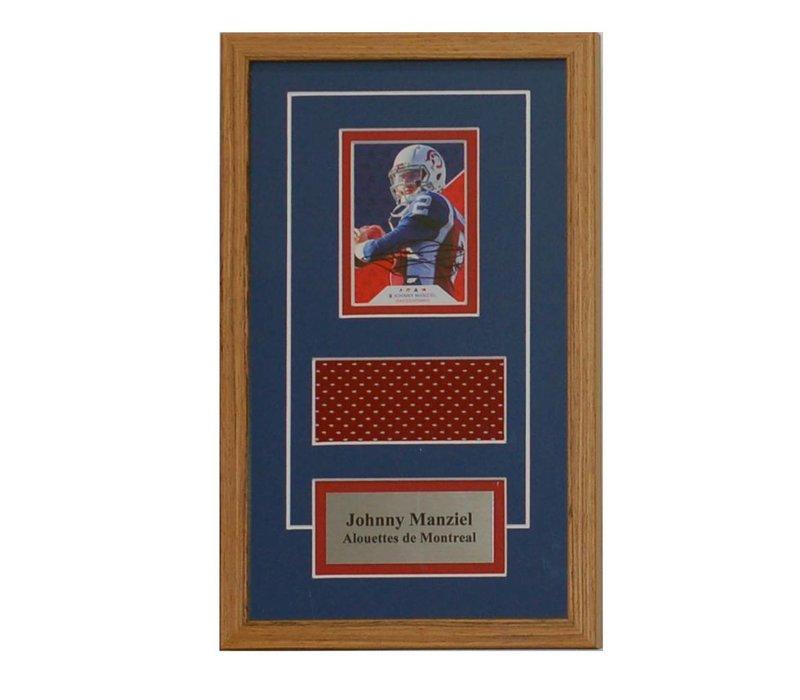 JOHNNY MANZIEL CARD FRAME