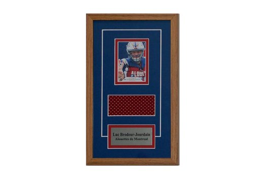 FRAME SHOPPE LUC BRODEAUR-JOURDAIN CARD FRAME