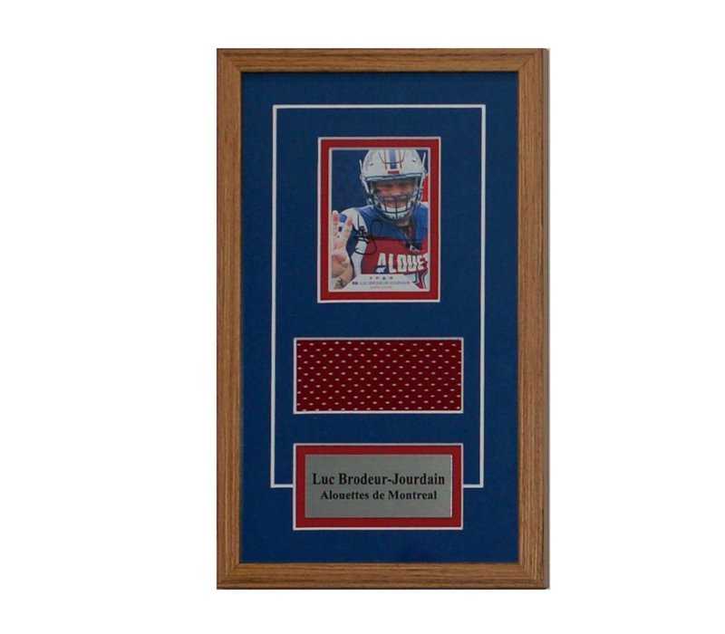 LUC BRODEAUR-JOURDAIN CARD FRAME
