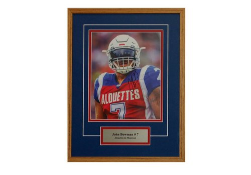 FRAME SHOPPE JOHN BOWMAN PHOTO FRAME