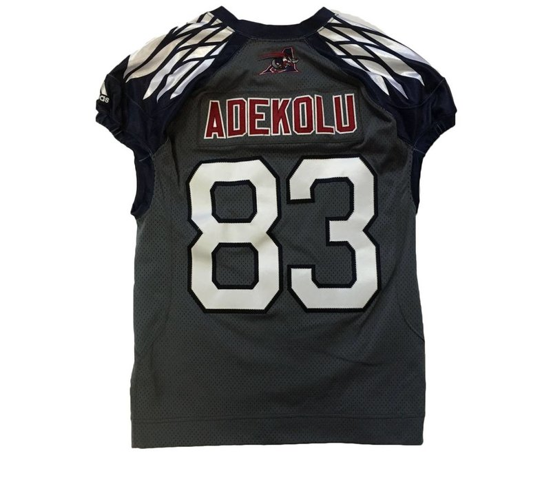 2018 STEPHEN ADEKOLU GAME JERSEY