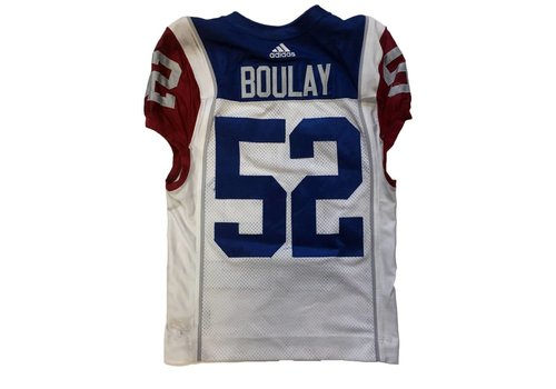 Adidas 2018 NICOLAS BOULAY AWAY GAME JERSEY