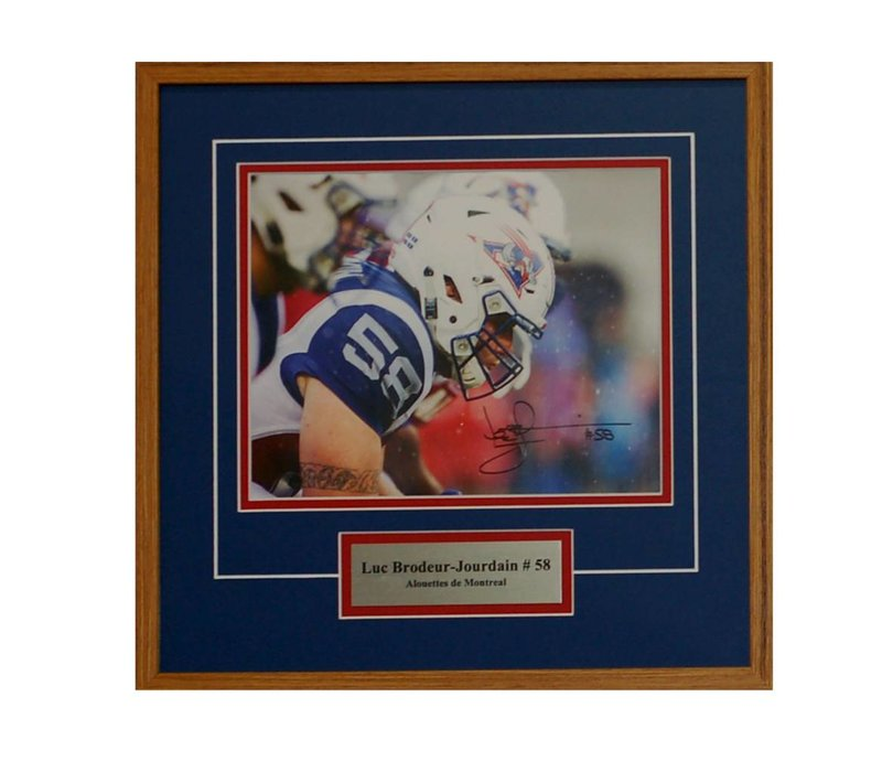 LUC BRODEUR-JOURDAIN PHOTO FRAME