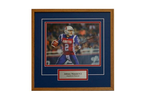 FRAME SHOPPE JOHNNY MANZIEL PHOTO FRAME