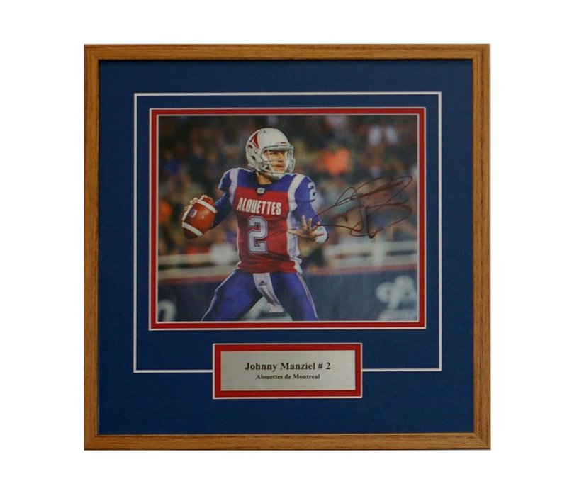 JOHNNY MANZIEL PHOTO FRAME