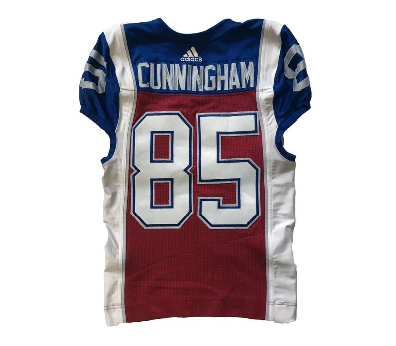 2018 BJ CUNNINGHAM HOME GAME JERSEY