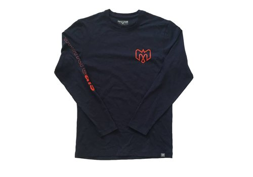 Levelwear PROGRESSION NAVY LONG SLEEVE SHIRT