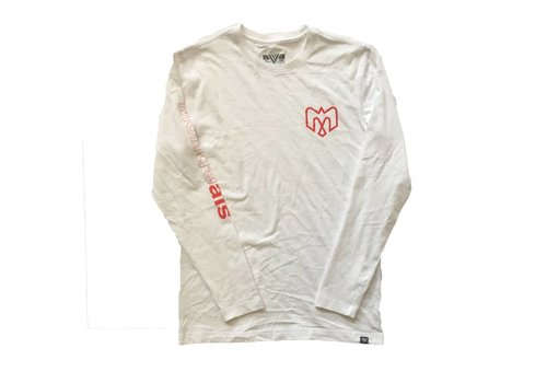 Levelwear PROGRESSION WHITE LONG SLEEVE SHIRT