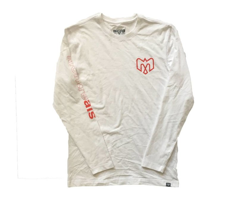 PROGRESSION WHITE LONG SLEEVE SHIRT