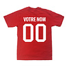 Adidas PERSONALIZED PLAYER SHIRT - RED