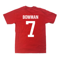 PERSONALIZED PLAYER SHIRT - RED