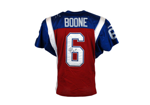 Reebok 2015 SIGNED BOONE GAME JERSEY