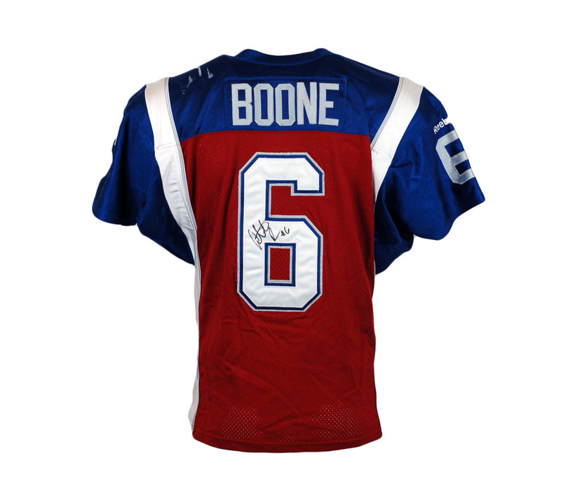 2015 SIGNED BOONE GAME JERSEY