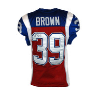 2015 SIGNED BROWN GAME JERSEY
