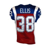 2015 SIGNED ELLIS GAME JERSEY
