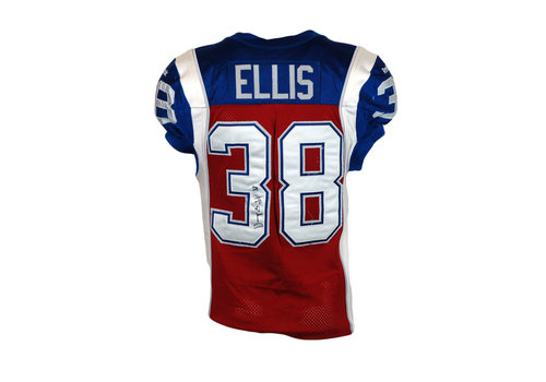Reebok 2015 SIGNED ELLIS GAME JERSEY