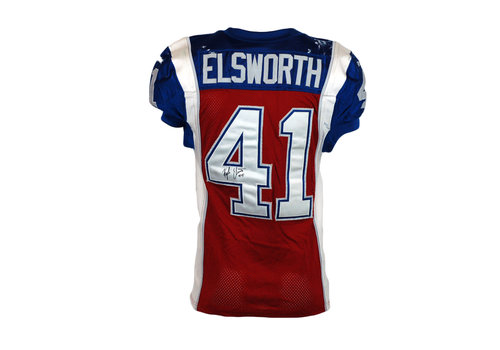 Reebok 2015 SIGNED ELSWORTH GAME JERSEY