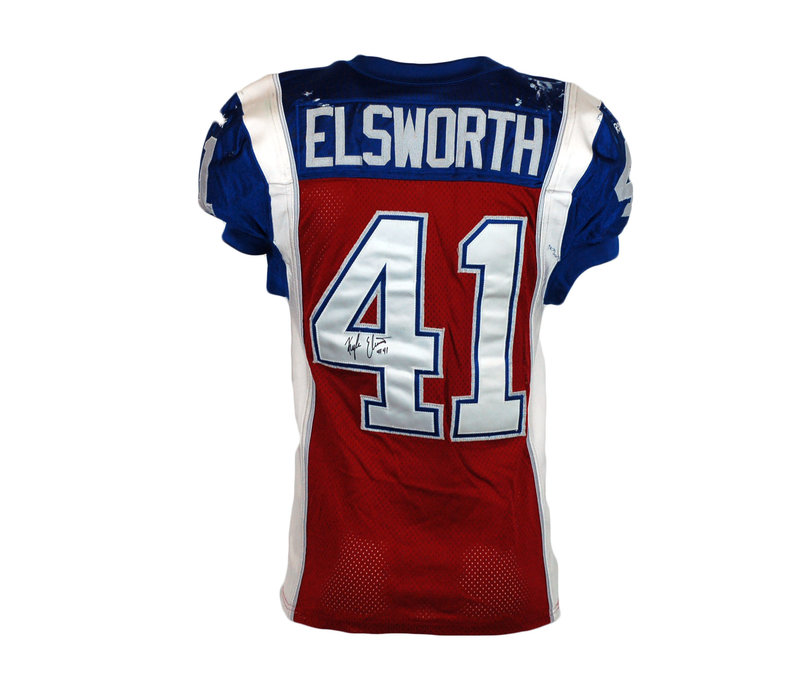 2015 SIGNED ELSWORTH GAME JERSEY