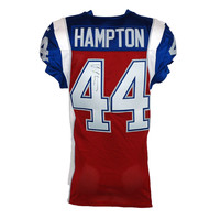 2015 SIGNED HAMPTON GAME JERSEY