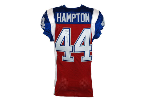 Reebok 2015 SIGNED HAMPTON GAME JERSEY