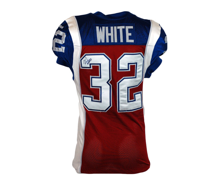 2015 SIGNED WHITE GAME JERSEY