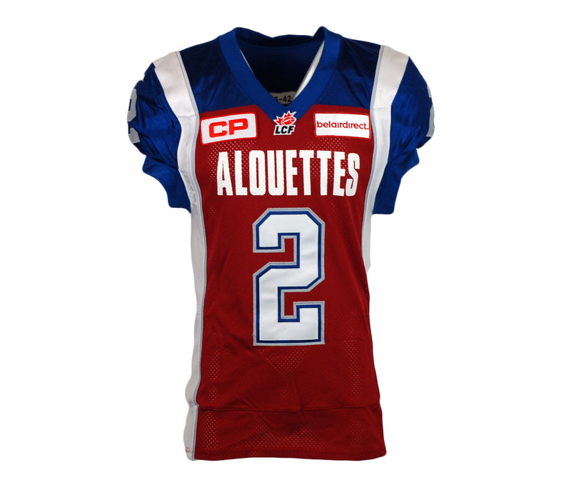 2015 SIGNED STAMPS GAME JERSEY