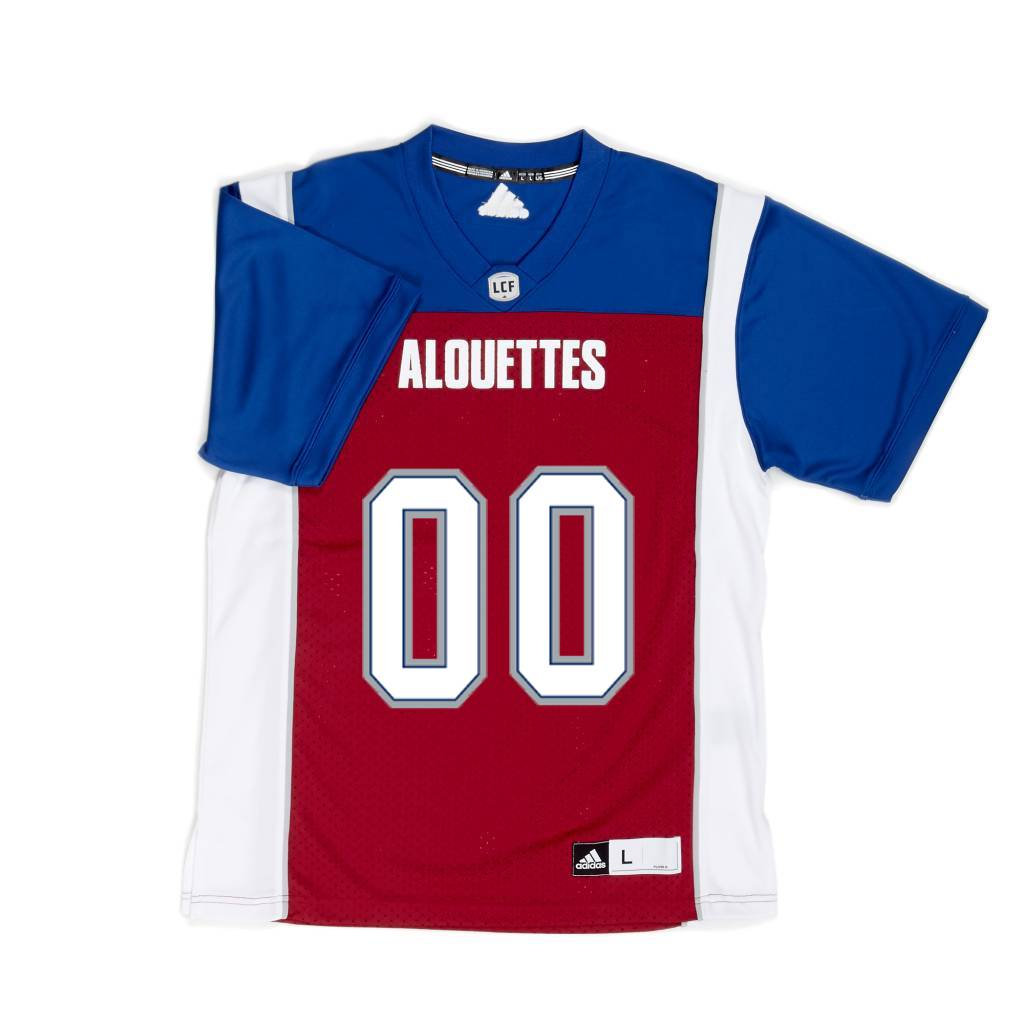 c3423a1cdc43 PERSONALIZED ADIDAS HOME JERSEY - Montreal Alouettes