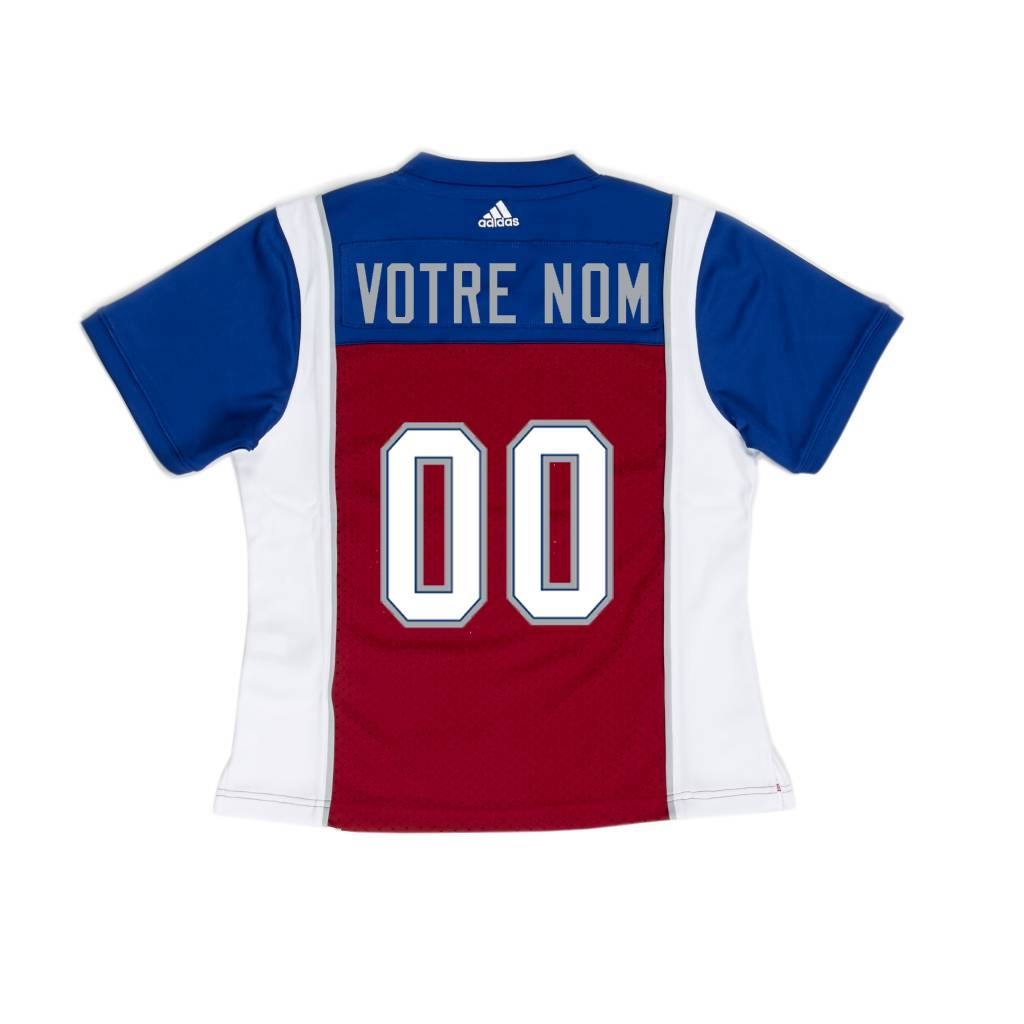 beeee520e565 WOMEN S PERSONALIZED ADIDAS HOME JERSEY - Montreal Alouettes