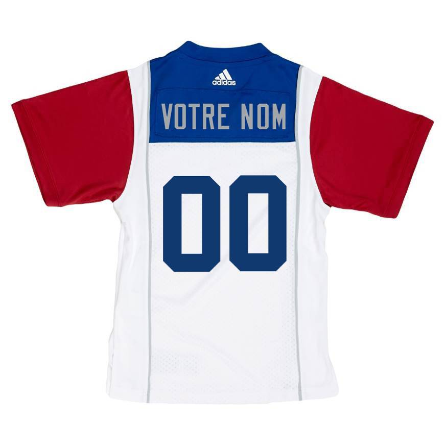 dc37ae96d998 PERSONALIZED ADIDAS AWAY JERSEY - Montreal Alouettes
