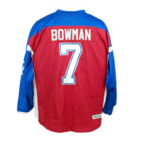 BOWMAN #7 HOCKEY JERSEY