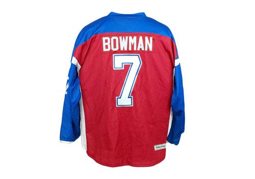 BOWMAN #7 HOCKEY JERSEY