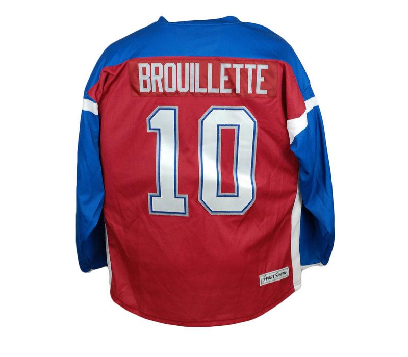 JERSEY DE HOCKEY BROUILETTE #10