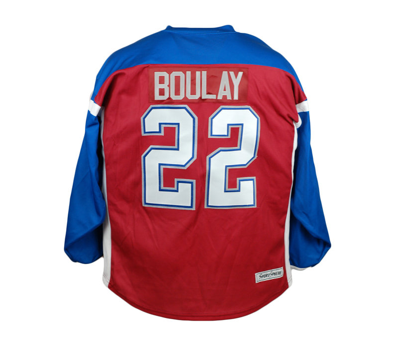 BOULAY #22 HOCKEY JERSEY