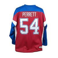 PERRETT #54 HOCKEY JERSEY