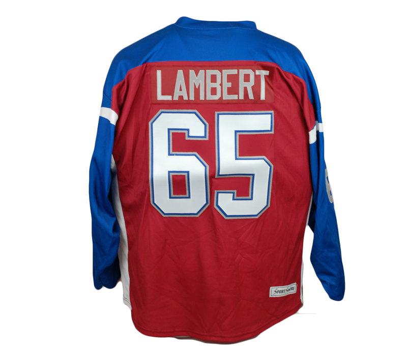 JERSEY DE HOCKEY LAMBERT #65