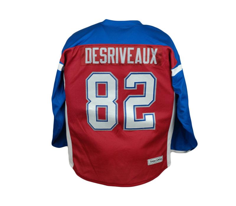 DESRIVEAUX #82 HOCKEY JERSEY