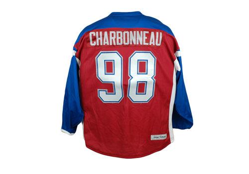 CHARBONNEAU #98 HOCKEY JERSEY