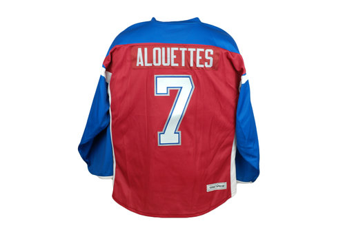 ALOUETTES #7 HOCKEY JERSEY