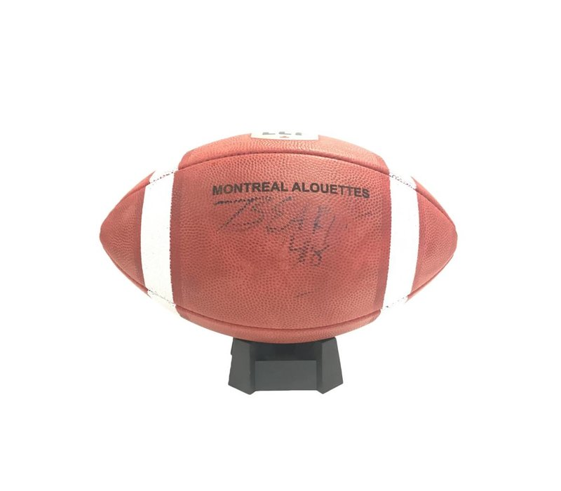 SIGNED BEAR WOODS FOOTBALL