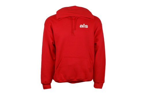 Style & Ease REACH HOODIE RED YOUTH