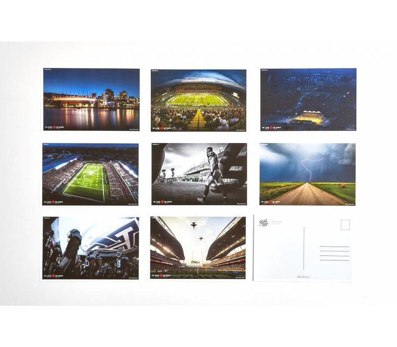 OUR LEAGUE POSTCARDS - JOHANY JUTRAS