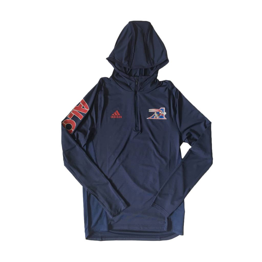 1 4 ZIP TRAINING HOODIE - Montreal Alouettes 8155eb2d44073