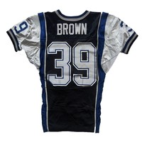 BROWN 2013 GAME JERSEY