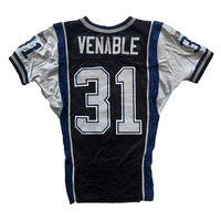 VENABLE 2013 GAME JERSEY