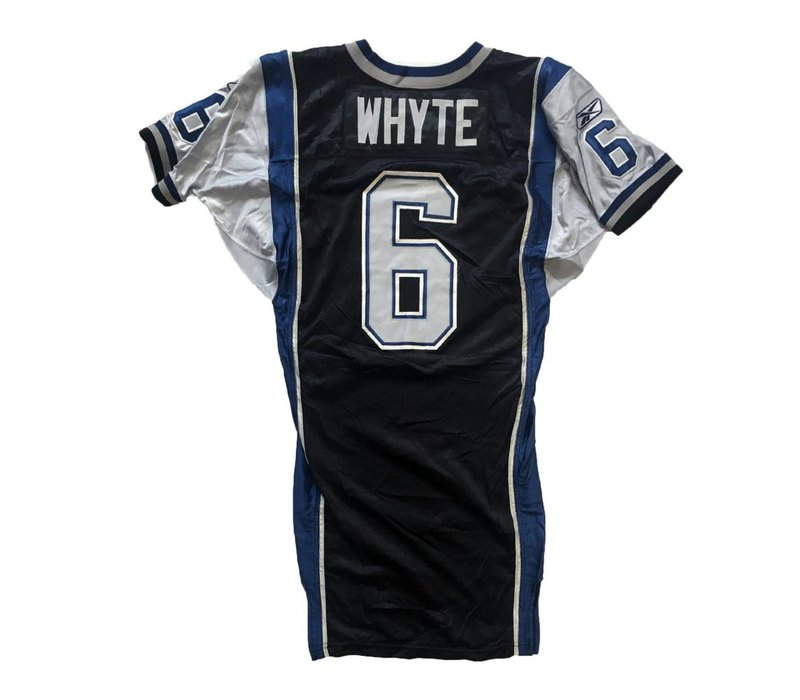 WHYTE 2013 GAME JERSEY