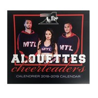 CALENDRIER DES CHEERLEADERS 2018